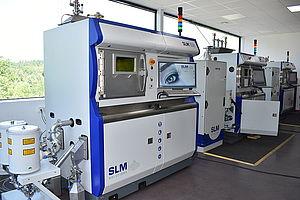 Машины SLM280 в компании Rosswag